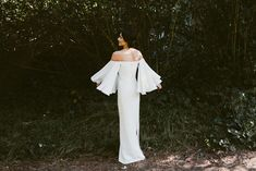 Dress: Houghton Gamila gown from LOHO Bride SF - Sarah and Chris's San Francisco Wedding by San Francisco Weddings (Coordination for ceremony) + Katch Silva (Photography) - via Grey likes weddings