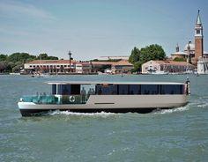 svetlana mikhailova redesigns venetian waterbus as hydrogen powered boat