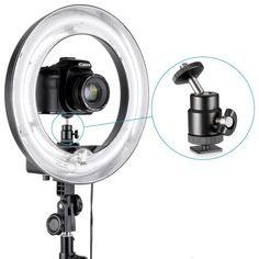 Amazon.com : Neewer Mini Ball Head with Lock and Hot Shoe Adapter Camera Cradle : Flash Shoe Mounts : Camera & Photo