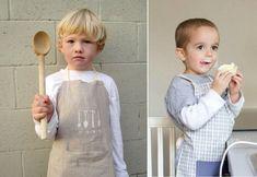 Стильные детские фартуки