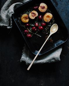 Making something super delicious today  Have you ever tried plums baked with rosemary? It tastes like heaven!  Weekend is almost here  by whatforbreakfast