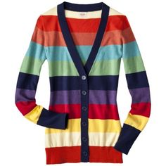 Mossimo Supply Co. Juniors Stripe Cardigan ...It's dangerous when things on here are in my price range.