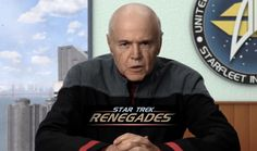 Star Trek producers and 'Voyager' actor Tim Russ discuss 'Renegades'