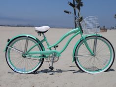 I need a bike so the kiddo and I can cruise the beach this summer.  Specifically, THIS bike. Want!