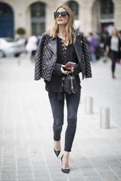 Hack: Power pumps are key when your outfit feels a touch expected or isn't as bright. A pointed-toe silhoue...