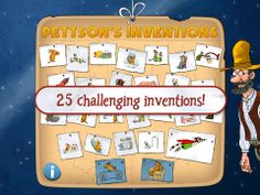 EDITOR'S CHOICE - For the science lover who enjoys a good challenge, Pettson's Inventions provides a puzzle like game for children to assemble a variety of in...