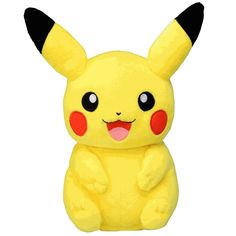You better believe we have a plus of everyone's favorite Pokemon, Pikachu! Put it on display or take them out on your next hunt!  http://www.coppinsgifts.com/pokemon-plush-8-inches-pikachu.html