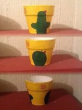 CACTUSITO Flower Pots, Planter Pots, Clay, Ideas, Rose Buds, Vases, Decorated Flower Pots, Window Boxes, Potted Plants