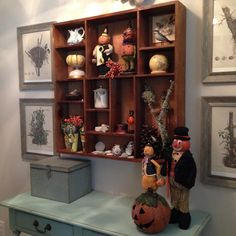 Quince Cottage Halloween Pumpkin Display © Rhiann Wynn-Nolet
