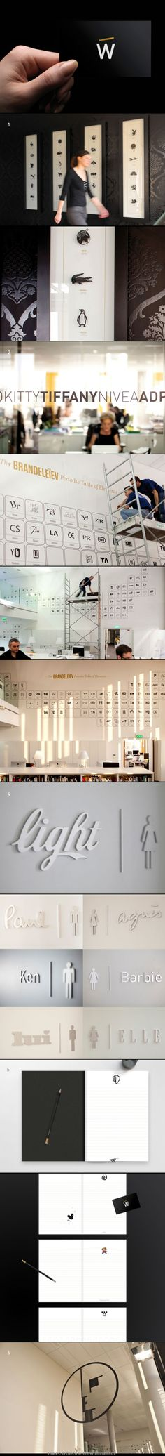 #branding W agency, via ID : http://identitydesigned.com/wcie/... - a grouped images picture - Pin Them All