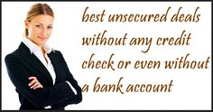 Unsecured Loans No Bank Account requires no collateral against the loan. You can be taken these loans for buying dream car, home renovation or any other purpose you desire. If you don't have a bank account then don't worry, we only check your repayment ability to provide loans. So apply Now! http://www.paydayloansnobankaccount.co.uk/unsecured-loans-no-bank-account.html