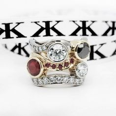 #custommade#diamondrings#ruby#blackdiamonds#bykalfinjewellery#diamondjewellery#diamondringsmelbourne#engagementringsmelbourne#handmade#diamondengagementrings#dressrings#customdesign#jewellers#weddingrings#gentring www.kalfin.com.au