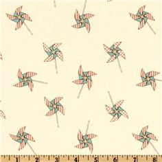 vi's room Michael Miller Children at Play Pinwheels Cream Car Fabric, Retro Fabric, Ctrl C Ctrl V, Backgrounds Wallpapers, Michael Miller Fabric, Kid Character, Home Decor Fabric, Knit Fashion, Fabric Swatches