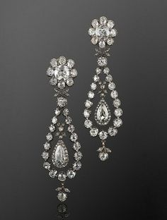 Capri Jewelers Arizona ~ www.caprijewelersaz.com  antique diamond earrings