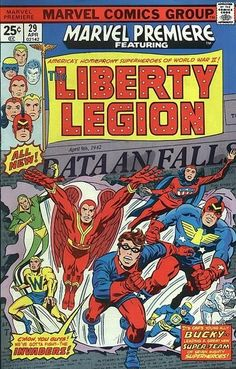 The stretching Thin Man retroactively became a founding member of the Liberty Legion, which debuted in Marvel Premiere #29 (April 1976).