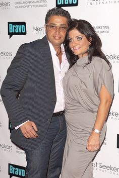 Kathy Wakile and Rich Wakile from Real Housewives of New Jersey RHONJ