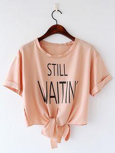 Pretty Stripe Loose T-Shirt