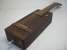 Cigar Box Guitar Acoustic - $325.00