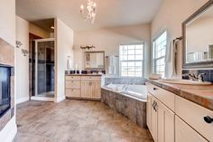 home for sale on Coyote Trail Elizabeth Colorado Tile Counters, Granite Tile, Ranch Homes For Sale, Cherry Floors, Kitchen Views, Ranch Style, Breakfast Nook, Colorado, Trail