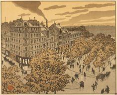 Paris à travers les lithographies d'Henri Rivière   Un Jour de plus à Paris