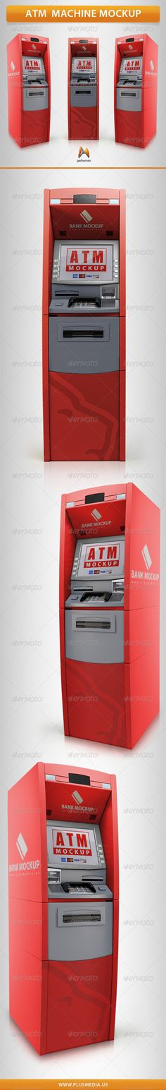 ATM Machine Mockup 3d, atm, atm Mockup, automatic, bancomat, bank, banking, business, card, cash, cashpoint, commercial, credit, currency, debit, display, finance, keypad, machine, mock-up, mockup, money, monitor, pay, payment, tech, technology, terminal, touch, transaction, ATM Machine Mockup
