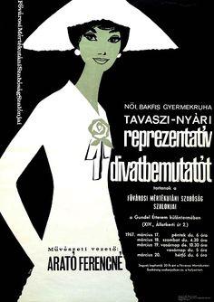 Hungary Spring-summer representative fashion show   Tavaszi-nyári reprezentatív divatbemutatót  1967