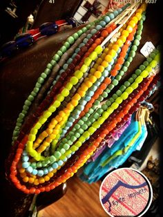 Love love little glass cube beaded strands from eyre imports port lincoln south  Australia xx