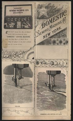 domestic sewing machine company