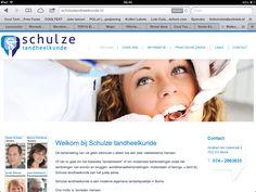 Logo, huisstijl en website ontwerp schulzetandheelkunde.nl