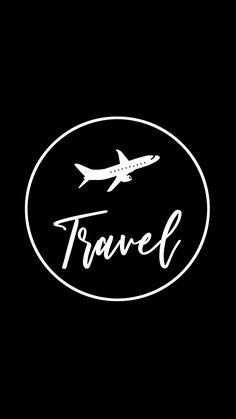 Travel Instagram highlight cover #instagram #highlight #cover #travel #roam Instagram black theme Instagram icons Black and white instagram