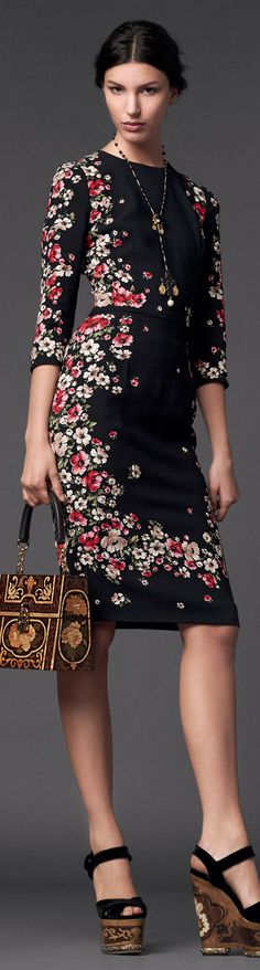 Dolce & Gabbana | Woman Collection W 2014