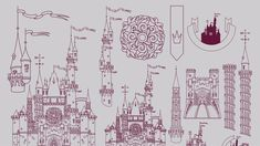 Walt Disney World Secrets You've Never, Ever Heard Before | Travel + Leisure Disney World Secrets, Walt Disney World, Disney Disney, Ceiling Murals, Tower Of Terror, Creative Sketches, Paint Markers, Pencil Illustration, Business Card Logo