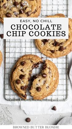 Basic Butter Cookies Recipe, Cookie Dough Recipes, Baking Recipes, Dessert Recipes, Party Recipes, Dessert Ideas, Healthy Recipes, Pudding, Best Chocolate Chip Cookie