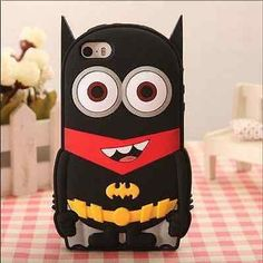 #Batman #despicable me minion #silicone apple iphone/ipod touch/samsung s4/5/6 ca,  View more on the LINK: 	http://www.zeppy.io/product/gb/2/231537784817/