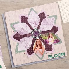 A gem is a precious or unique stone which can be used in jewelry. In this case, it is precious and can be used on your scrapbooking layouts. The way I see it, scrapbooking layouts equate to jewelry…