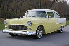 my first car was an all original yellow and white 1955 Bel Air sold for 100.00 in prime condition to get a 71 Dodge Demon.