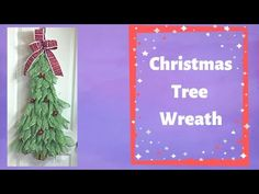 How to make a Christmas tree with Poly Burlap Mesh - YouTube