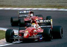 1992 Dallara BMS192 - Ferrari (Pierluigi Martini & JJ Lehto)