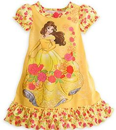 online shopping for Disney Store Belle Princess Beauty & Beast Nightshirt Nightgown Girls Yellow from top store. See new offer for Disney Store Belle Princess Beauty & Beast Nightshirt Nightgown Girls Yellow Princess Beauty, Disney Princess, Disney Belle, Disney Girls, Baby Disney, Little Girl Fashion, Kids Fashion, Disney Nightgowns, Disney Pajamas