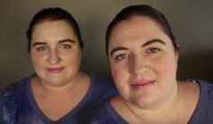 Ambra, left, and Jennifer, right, two American women who look identical but aren't related, recently met through the Twin Strangers project.