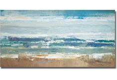 Amazon.com: Pastel Waves by Peter Colbert Premium Stretched Canvas (Ready to Hang): Mixed Media Paintings: Posters & Prints