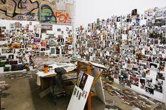 Freunde von Freunden — Jonas Burgert — Artist, Studio, Weissensee, Berlin — http://www.freundevonfreunden.com/de/workplaces/jonas-burgert/