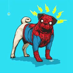 14 Classic Dog Breeds Reimagined As Marvel Superheroes