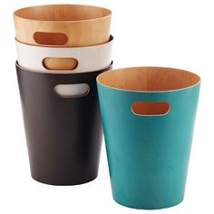 The Container Store > Woodrow Wastebasket by Umbra®