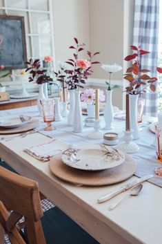 What's Hot for Spring - Holly Thompson Homes Table Settings, Kitchen Cabinets, Homes, Table Decorations, Spring, Projects, Furniture, Design, Home Decor