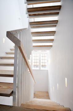 Unique scultpural staircase in Hampstead Garden Suburb – in collaboration with architect Michael Zinaburg @ CKC Architects. www.designandweld.com