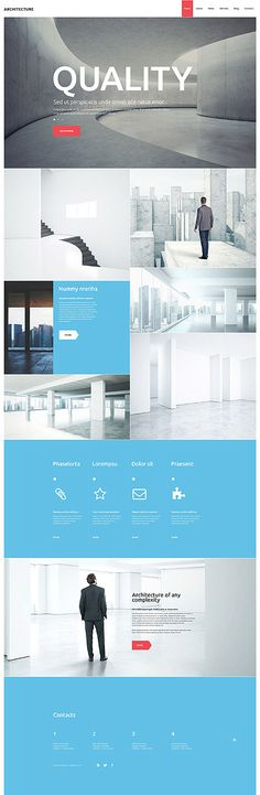 Architecture Studio Website #WordPress #template. #themes #business #responsive