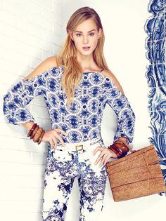 Azulejos portugueses viram febre fashion. Inspire-se em looks para usar já!