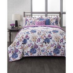 Berry Garden Bedding Duvet Set, Multicolor