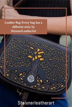 Every single one of our item is designed by me. What is more? Hand cut, hand carved and hand stitched ALL by myself. I do NOT USE machines (except coffee machine of course : )I only use the best high quality SELECTED Spanish, German, Italian and Hungarian Full Grain Leather to create my artistic leather Items for YOU!